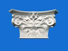 CAPITELLO-MENSOLA IN GESSO -Art.252- (Prodotto laccato bianco)