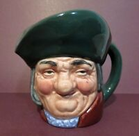 "Royal Doulton Character Jug' TOBY PHILPOTS ' - D 5737. 3 1/4"" Retired 1969"