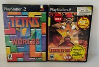 Lot of 2 PS2 Games State Of Emergency and Tetris Worlds Complete Black Label
