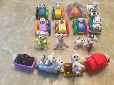 Disney 101 Dalmatians Plastic figurines Vintage, Lot Of 15