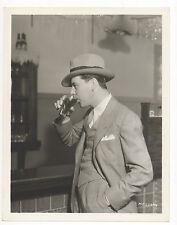 Vintage MGM 1930s Original 8x10 BEN LYON - Studio Candid SODA FOUNTAIN