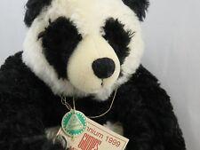 Panda Teddy Bear by Teddy Hermann - limited edition #255 MILLENNIUM 1999.