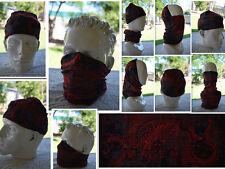'DRAGON' Head/Face/Mask/Neck Multi-wear tube Bandana/Durag. Scarf/HeadWrap. 017