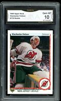 1990 Upper Deck #176 Viacheslav Fetisov RC Rookie Graded GMA 10 GEM ~COMP PSA 10