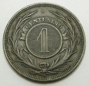 URUGUAY 1 Centesimo 1869 A - Bronze - VF - 2042