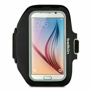 Belkin Sport-Fit Plus Armband for Samsung Galaxy S5/S6/S6 Edge/S7 - Black