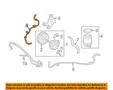 TOYOTA OEM 07-11 Camry Power Steering Pump-Upper Return Line Hose 4440606171