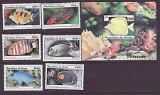 Guinea # 1403-09 MNH Complete W/SS Fish Fauna