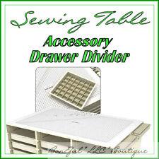 BonEful New Sewing Machine Craft Room Table Stamp Scrapbook Quilt Storage Drawer