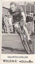 MAARTEN BREURE Wielrennen WILLEM II Gazelle 60s Cyclisme Ciclismo Cycling vélo