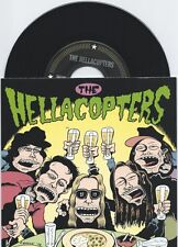 "Hellacopters ""Down Right Blue"" 7"" OOP Electric Frankenstein Gluecifer Turbonegro"