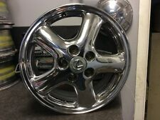 "Lexus 16"" Crome Five Spoke wheel SD9U USED"