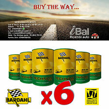 OLIO MOTORE BARDAHL TECHNOS C60 5W-30 mSAPS 6L (4+2 OMAGGIO) TAGLIANDO - 311040