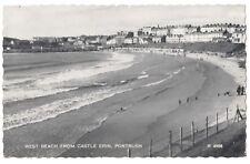Old Postcard - West Beach from Castle Erin Portrush Co Antrim 1961