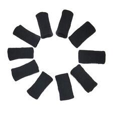 10pcs Finger Socket Support Finger Protection for Volleyball Basketball 5*2.6cm