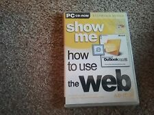 Show Me How to Use the Web and E-mail by gsp (CD-ROM, 2001)new and sealed