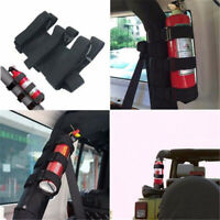 Roll Bar Fire Extinguisher Holder for Car Truck Extinguisher Mount Bracket Strap