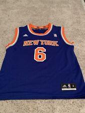 Kristaps Porzingis #6 Nueva York Knicks juvenil medio Adidas Jersey Nuevo Sin Etiquetas
