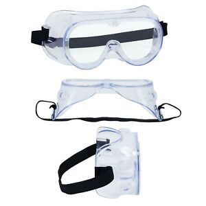 Safety Goggles Protective Vent Glasses Eye Protection Anti-Fog Lab Work PPE Wear