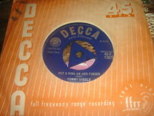 2 SUPER 45S TOMMY STEELE Come On,Let's Go/Put A Ring On Her Finger'/HAPPY GUITAR