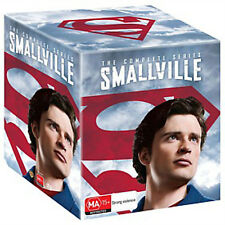 SMALLVILLE COMPLETE SERIES COLLECTION 1-10 BOX SET 62 DISCS R4 BRAND NEW DVD