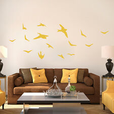Flying Birds - Animal Family Room Nursery & Kids Room Bedroom Wall Decals