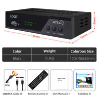 North America Digital Converter Box ATSC Tuner Tv Receiver Decoder Set Top Box