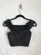 Bardot - Ladies Black Sparkling Off The Shoulder Top - Size 8.
