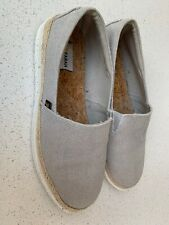Farah Mens Slip On Linen Canvas Shoes Uk9.5