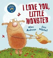 I Love You, Little Monster by Andreae, Giles, NEW Book, (Paperback) FREE & Fast