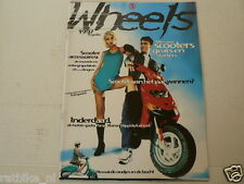 WHEELS 1997 SCOOTERS AND MOPED MODELS ATALA,SYM,HYOSUNG,DERBI,PUCH,ITALJET,YAMAH