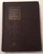 Tennyson's Idylls Of The King Book Alfred Lord MacMillan Co Copyright 1912