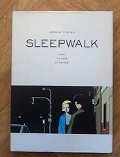 SLEEPWALK AND OTHER STORIES ADRIAN TOMINE  FIRST PRINTING  FINE + EX LIBRIS(A44)