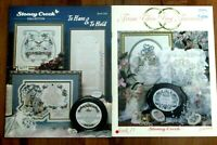 2 ECU Stoney Creek Counted Cross Stitch To Have & To Hold  From This Day Forward