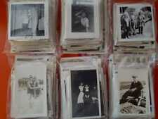 100 LOT VINTAGE PHOTOGRAPHS MOST B&W A FEW COLOR