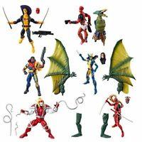 "Marvel Legends Deadpool X-Men Sauron BAF Series 6"" Figure - Choose Your Figure"