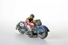 #Antique Tin Toy# Mettoy Honda Gentleman Motorcycle Clockwork Old Great Britain