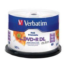 50 Verbatim Imprimable DVD + R double couche 8x DL Double Vierge 8.5 Go xbox 360