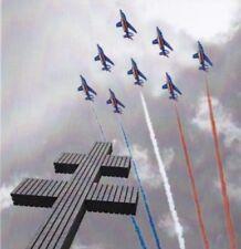 Carte anniversaire 80 ans Armée de l'Air Patrouille de France 2014