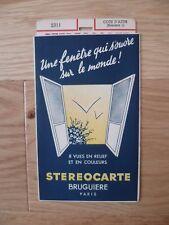 COTE D'AZUR ( Résumé 1 ) STEROCARTE BRUGUIERE N° 2311