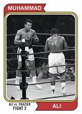 2021 TOPPS MUHAMMAD ALI THE PEOPLE'S CHAMP CARD #43 ALI vs FRAZIER FIGHT 2