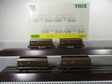 """Trix H0 24003 Wagen-Set """"Erztransport"""" E und H GmbH Epoche V 4-teilig in OVP"""