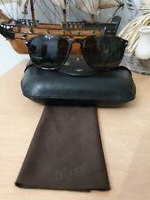 Persol Sunglasses 3019 95/31 Black Green Mens