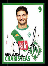 Angelos Charisteas Autogrammkarte Werder Bremen 2004-05 Original Sign+A 125293