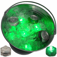 St. Patrick's Day Green LED Beer Ice Bucket Submersible Lights Party Set
