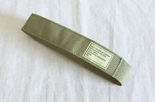 NEW British Army Light-Olive Combat Trouser Belt. Small Size. Velcro-Closure.