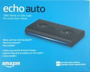 AMAZON Black Smart Assistant ECHO AUTO -Alexa