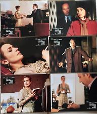 Photo cinéma 2004 Confidences trop intimes Luchini Bonnaire jeu complet 6 photos