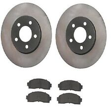 Front Mazda B4000 2005-2009 V6 4.0L Brake Kit Disc Rotors & Semi Met Pads
