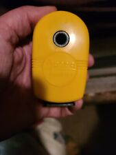 Vintage APSCO Yellow Pencil Sharpener Midget Wall Desk Mount